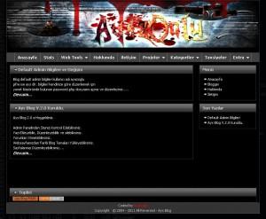 Ays Blog v3.0 Scripti Demo