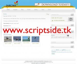 JackCMS Pro v2.2.4 İçerik Yönetim Scripti Demo