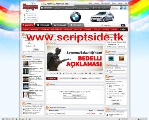 KonyaSoft v2.3 Şehir, Köy Portal Scripti Demo