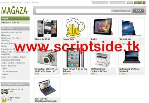 SinShop WordPress E-Ticaret Teması Demo