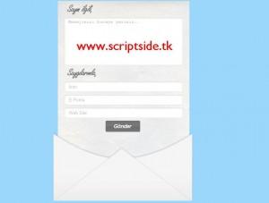 Modern İletişim Formu Scripti Demo