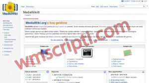 MediaWiki v1.21.1 Ansiklopedi Scripti Görseli