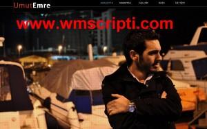 O-Kolay.net Kişisel Website – Portfolyo Scripti Demo
