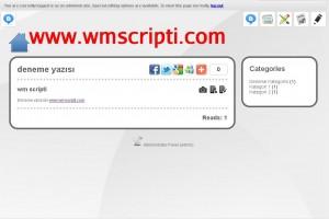 Webify v1.0 Blog Scripti Demo