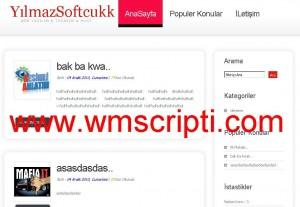 YBBlog v1.5 Blog Scripti Görseli