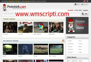 Prototürk WordPress Video Teması Görseli