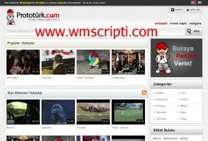 Prototürk WordPress Video Teması Görseli
