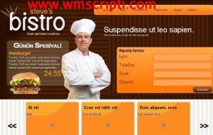 Restaurant Scripti Demo