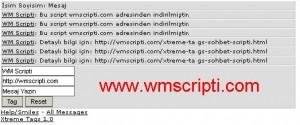 Xtreme Tags v1.0 Sohbet Scripti Demo