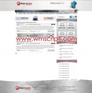 Perenc WordPress Blog Teması Demo