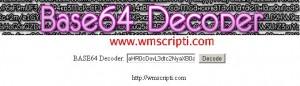 Base64 Decoder Scripti Görseli