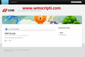 jCore v0.9 Portal Scripti Demo
