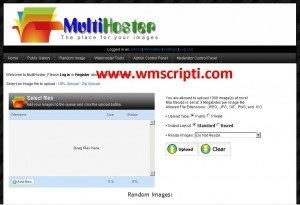 Mihalism Multi Host v5.0.4 Dosya Upload Scripti Demo