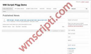 Pligg v1.2.2 Sosyal İmleme Scripti Demo