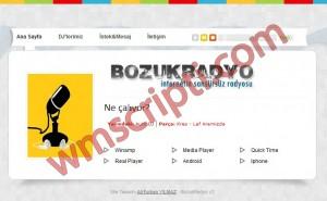 BozukRadyo v2.0 Radyo Scripti Demo