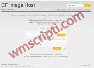 CF Image Host v1.6.6 Resim Yükleme Scripti Görseli