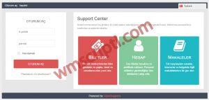 OpenSupports v4.0b Online Destek Scripti Demo