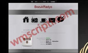 BozukRadyo v1.0 Radyo Scripti Demo