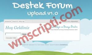 DF Uploader v1.0 Dosya Yükleme Scripti Demo