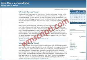 Serendipity v1.6.2 Blog Scripti Demo