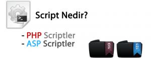 Script Nedir? Demo