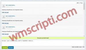 ASP Ajax Sohbet Scripti Demo