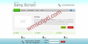 Tek Ürün Satış Scripti Demo