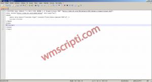 Script Düzenlemek İçin v6.8.3 Notepad++ Demo