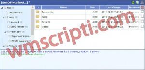 Ajax File Manager v10.12 Dosya Yönetim Scripti Demo