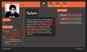 mPost v0.1 vCard, Kişisel Site Scripti Demo