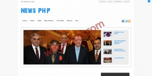 News PHP Haber Scripti Demo