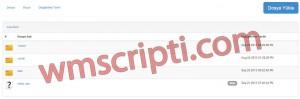 PHP Dizin Listeleme Scripti Görseli