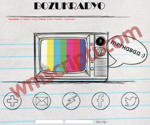 BozukRadyo v3.0 Radyo Scripti Demo
