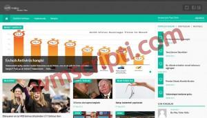 uuR WordPress Haber Teması Görseli