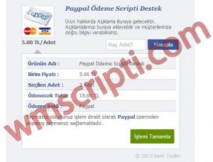 Paypal Ödeme Scripti Demo