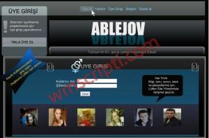 Erkocsoft Ablejov Arkadaşlık Scripti Demo