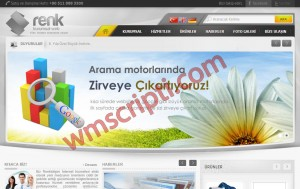 Renk Kurumsal v5.0 Firma Scripti Demo