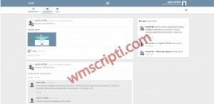 HumHub Sosyal Paylaşım Sitesi Scripti Görseli