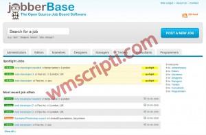 jobberBase v2.0 Kariyer Scripti Demo
