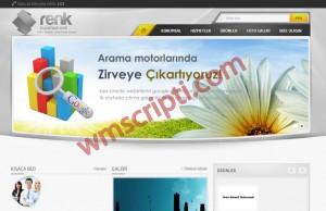 Renk Kurumsal WordPress Firma Teması Demo