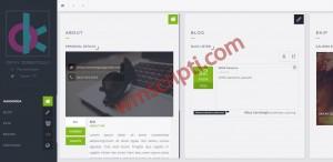 Webicrea Kişisel Site Blog Scripti Demo