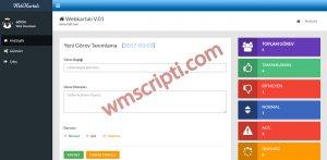Webkartalı İş Takip Scripti Demo